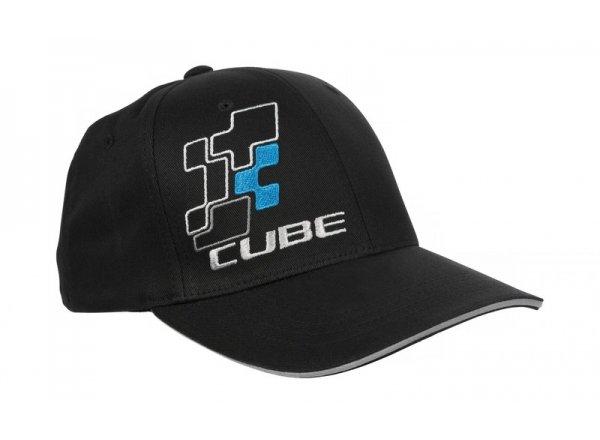 Kšiltovka CUBE Cap Blackline
