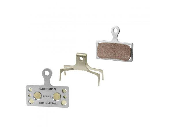 Brzdové destičky SHIMANO G04ti BRM985 kovové (1 pár)