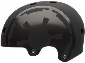 Cyklistická helma BELL Segment + brýle ONIX zdarma StarWars/mat black darth vader