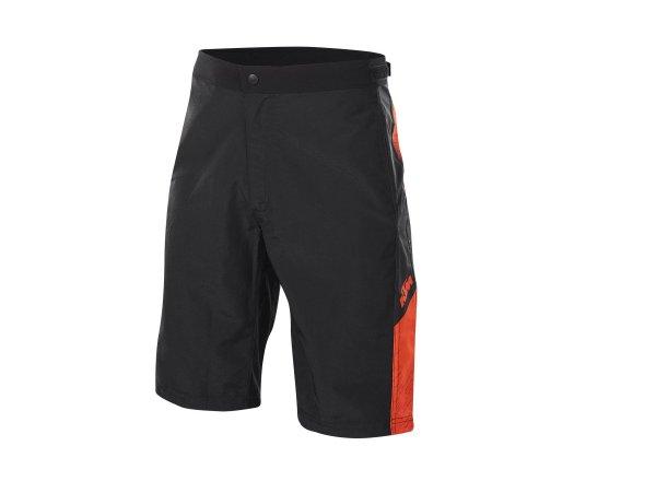 Cyklistické kraťasy KTM Character volné Black/orange