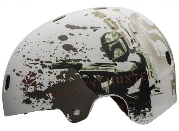 Dětská BMX helma Bell Segment Jr. StarWars-mat boba fet