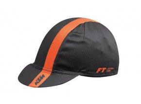 Cyklistická funkční čepice KTM Factory Team Black/orange