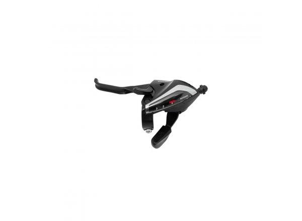 Řadící+brzdové páky Shimano ST-EF65 3X7 Black