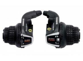 Řazení Shimano SL-RS35 Revoshift pravé+levé Black