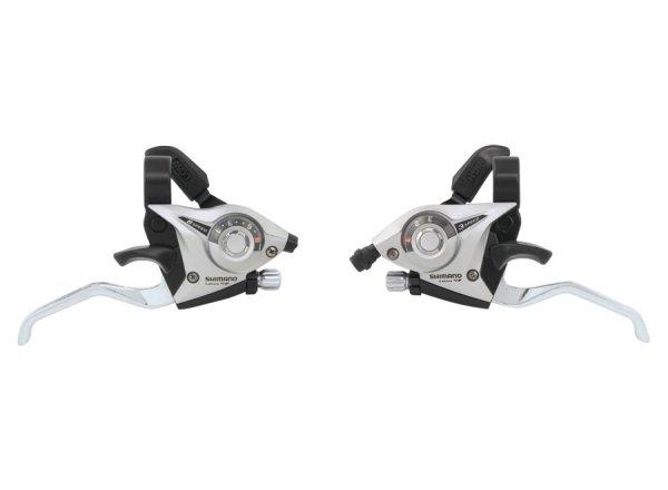 Řadící páčky Shimano ST-Ef51 3x8 Silver