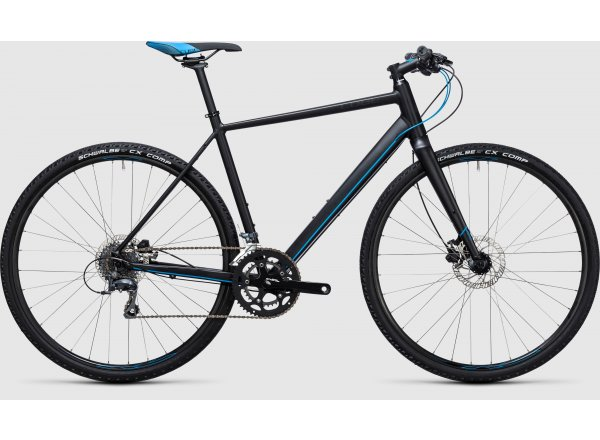 Fitness kolo Cube SL Road 2017 Black/blue