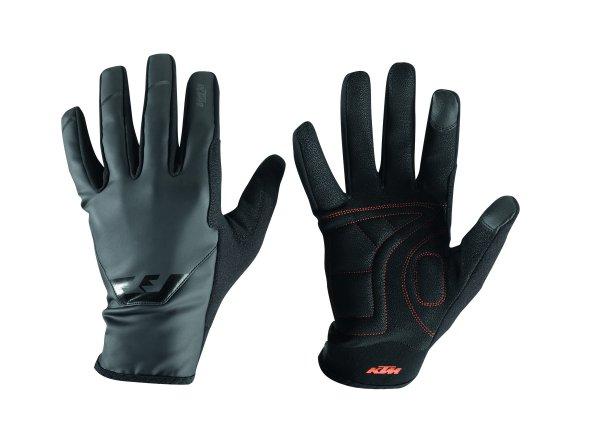 Cyklistické rukavice KTM Factory Team Spring Black