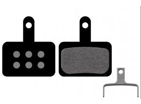 Destičky KTM pro Shimano Deore C601, M414, M445, M446, M485, M486, M515, M525, M575 (1 pár) Black