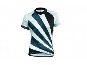 Dámský cyklistický dres KTM LADY LINE JERSEY Black/white