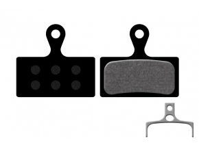 Destičky KTM pro Shimano Deore XT M785, SLX, M666, XTR 2011 M985 (1 pár) Black