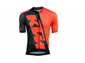 Cyklistický dres KTM Factory Team Race Light Orange/black