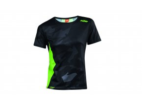 Cyklistický dres KTM Lady Character Black/green
