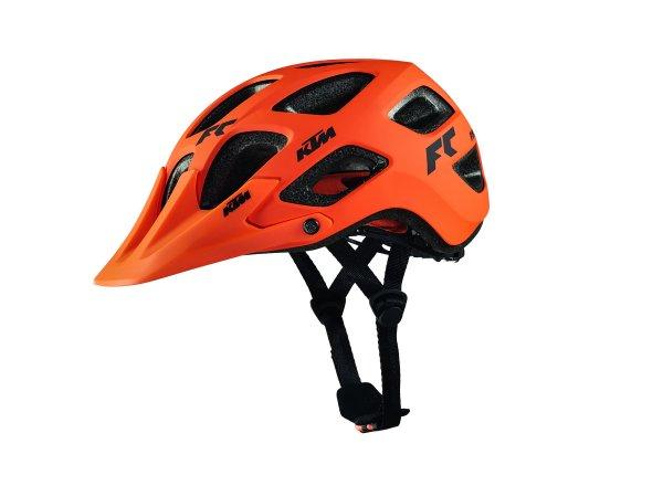 Cyklistická přilba KTM Factory CHARACTERe Orange