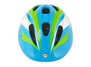 Dětská přilba Force Fun Stripes Blue/green/white