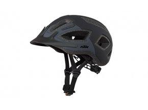 Helma na kolo KTM Factory Tour & Light se zadní blikačkou Black/grey
