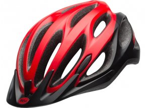 Cyklistická přilba Bell Traverse mat red/ black