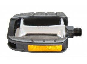 Pedály KTM Trekking (1 pár) Silver