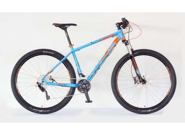 Horské kolo KTM Ultra 29 LTD 2018 Marseilleblue/orange/black
