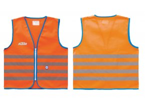 Dětská reflexní vesta KTM Safety Jacket kid Orange