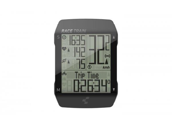 Computer Cube Race Train Black