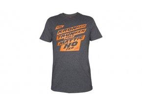 Tričko KTM Factory Team Grey/orange