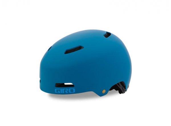 BMX helma Giro Quarter FS Mat blue teal