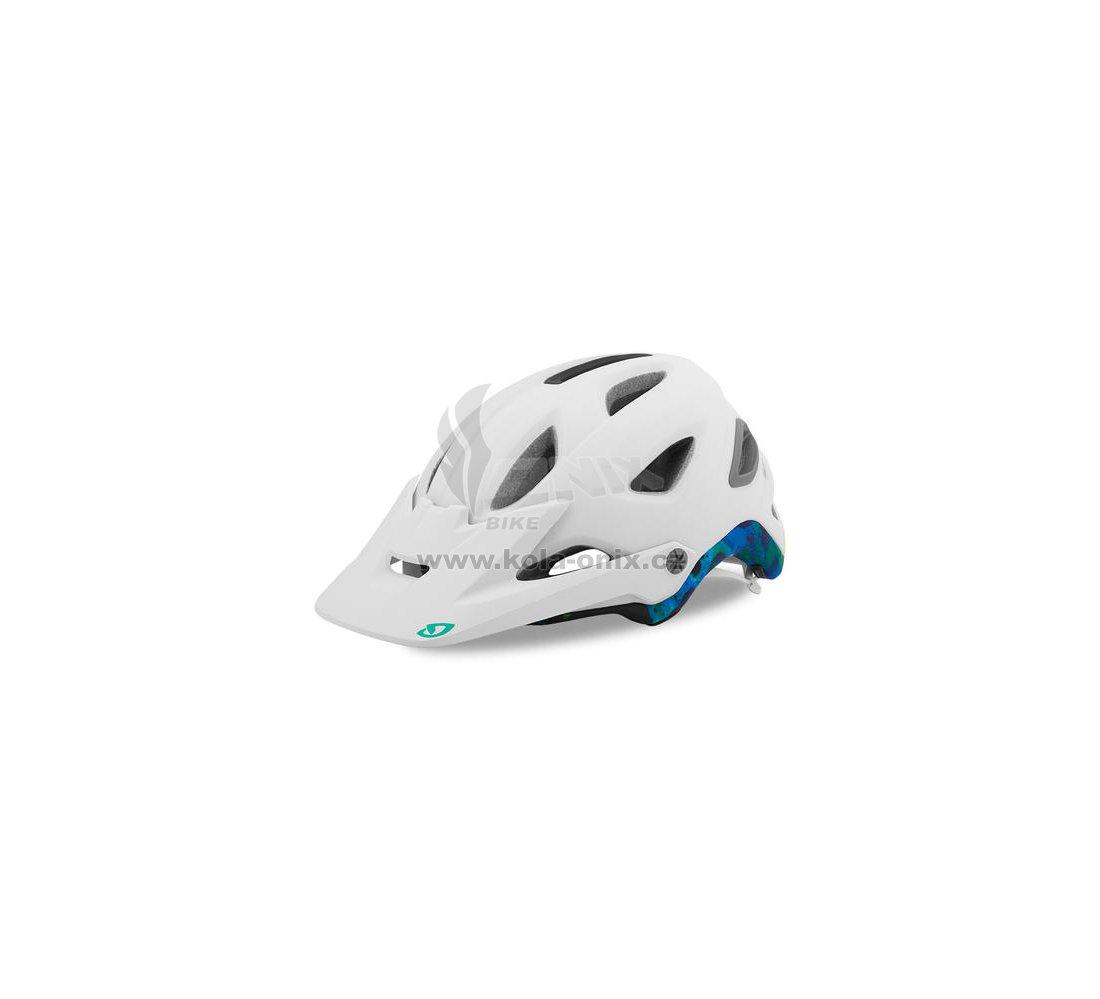 Dámská cyklistická helma Giro Montara MIPS Mat white tidepools ... b11ef77a32c