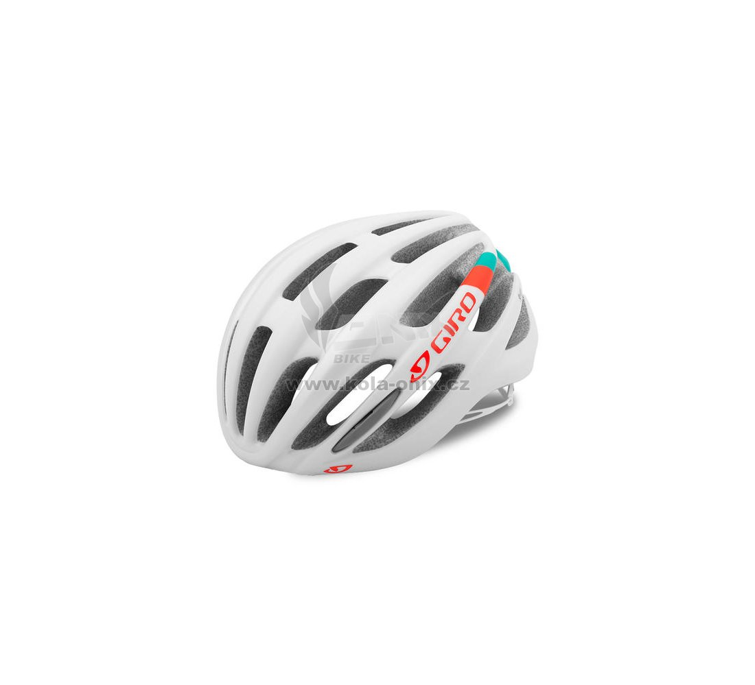 Dámská cyklistická přilba Giro Saga White turq vermilion   Kola-onix.cz c5a4f0b49f8