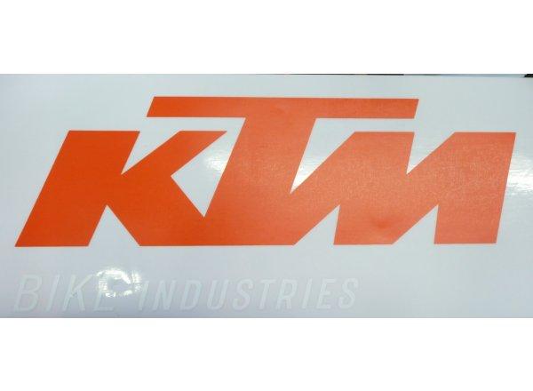 Nálepka vnější na sklo KTM Orange