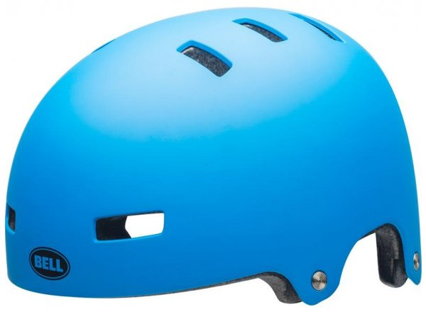 BMX přilba Bell Local Mat force blue