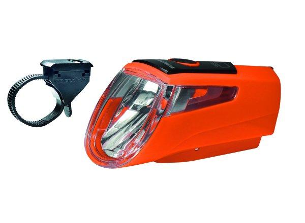Přední světlo KTM Trelock Light LS 460 I-GO Orange/black