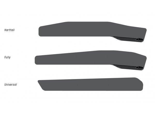 Kryt pod řetěz KTM Chain Stay Protector Hardtail Black