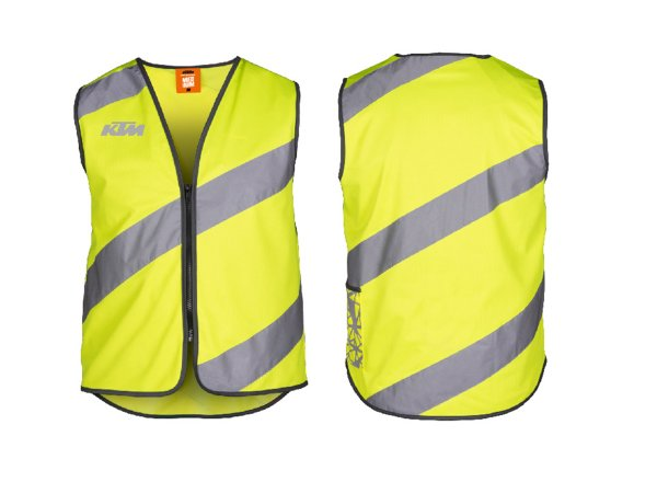 Reflexní vesta KTM Safety Jacket Urban 2021 Reflex Yellow