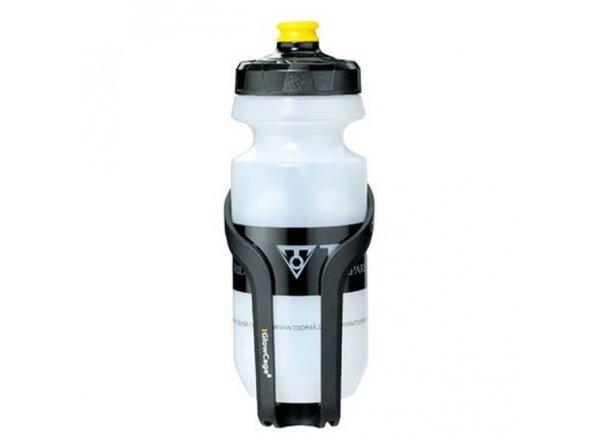 TOPEAK košík iGLOW s láhví Black/clear