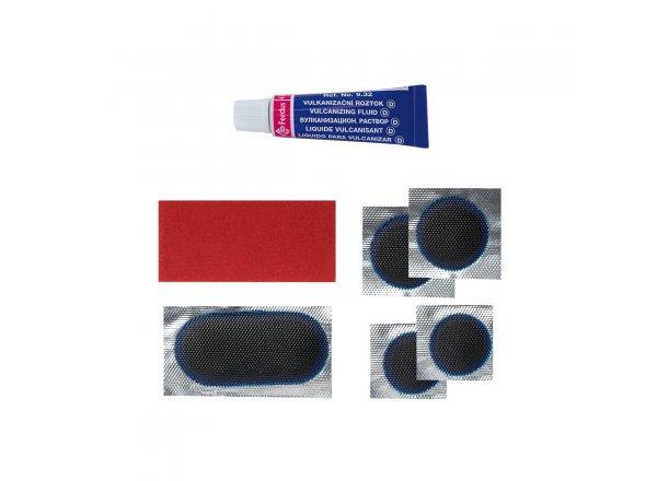 Lepení FERDUS VELO plastová krabička modrá -
