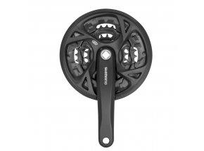 Kliky Shimano FCM371 44/32/22 černé 175+kryt Black