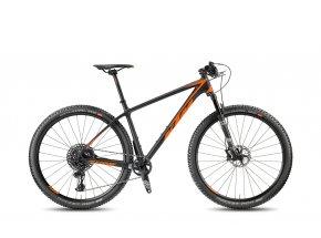 Horské kolo KTM MYROON 29 MASTER 12 Black matt/orange glossy