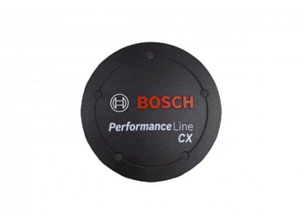 Logo krytka k motoru Bosch Performance line CX 70 mm Black