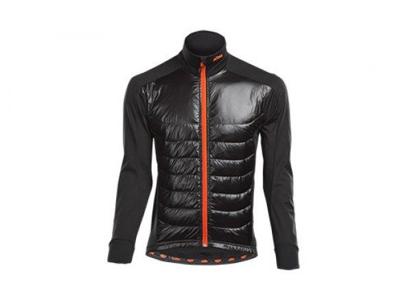 Cyklistická bunda KTM FACTORY TEAM RACE AIR XW Black/orange