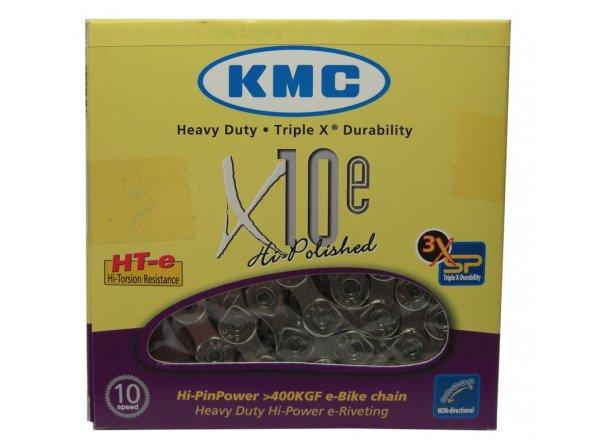 Řetěz pro elektrokola KMC X-10-E  10 speed Silver