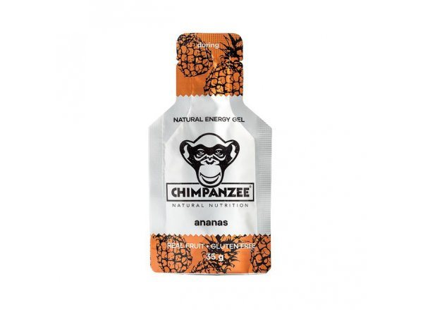 CHIMPANZEE ENERGY GEL - exp. 31.10.2018 Ananas
