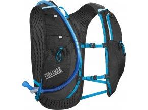 Běžecká vesta Camelbak Circuit Vest Black/atomic blue