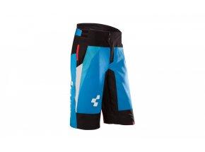 Cyklistické kraťasy Cube Action Team Blue/white/black