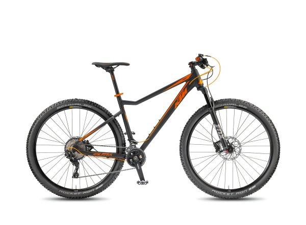 Horské kolo KTM ULTRA 1964 PRO 29.22 2018 Black matt/orange glossy