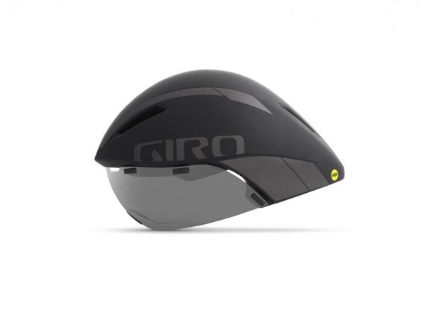Časovkářská helma GIRO Aerohead MIPS Mat black/titanium