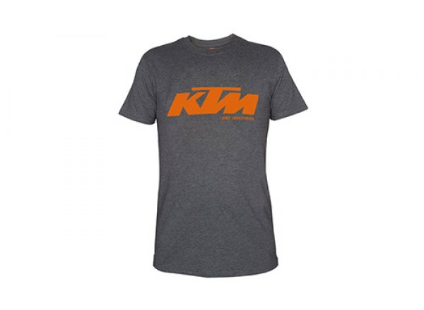 Tričko KTM Factory Team 2021 Grey/orange
