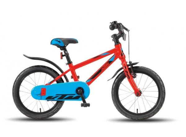 Dětské kolo KTM Kid 1.16 Boy Red orange/black/blue