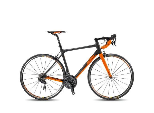 Silniční kolo KTM REVELATOR ALTO 4000 2018 Black matt/orange