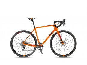 Cyklokrosové kolo KTM CANIC CXC 11 2018 Orange/black/darkred