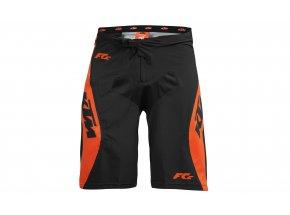Dětské kraťasy KTM Factory Enduro Youth Black/orange